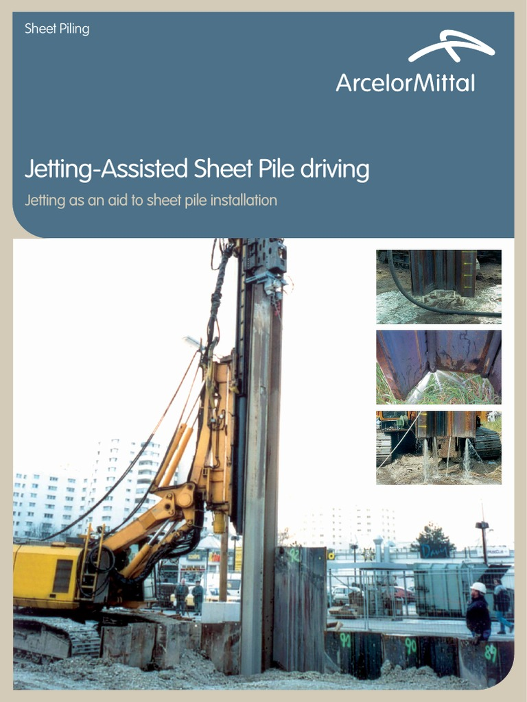 Jetting assist Pile driving - DocShare tips