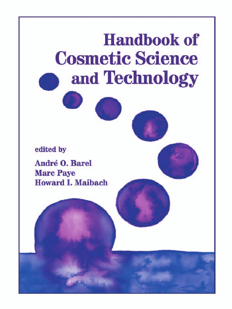 Handbook Of Cosmetic Science Amp Technology True Liar