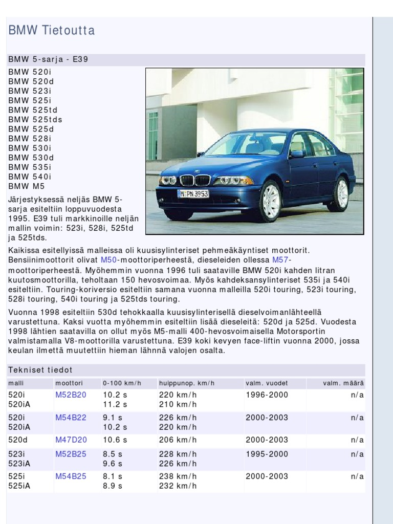 download service manual for bmw e39 german docshare tips rh docshare tips bmw e39 530d workshop manual download bmw e39 530d owners manual