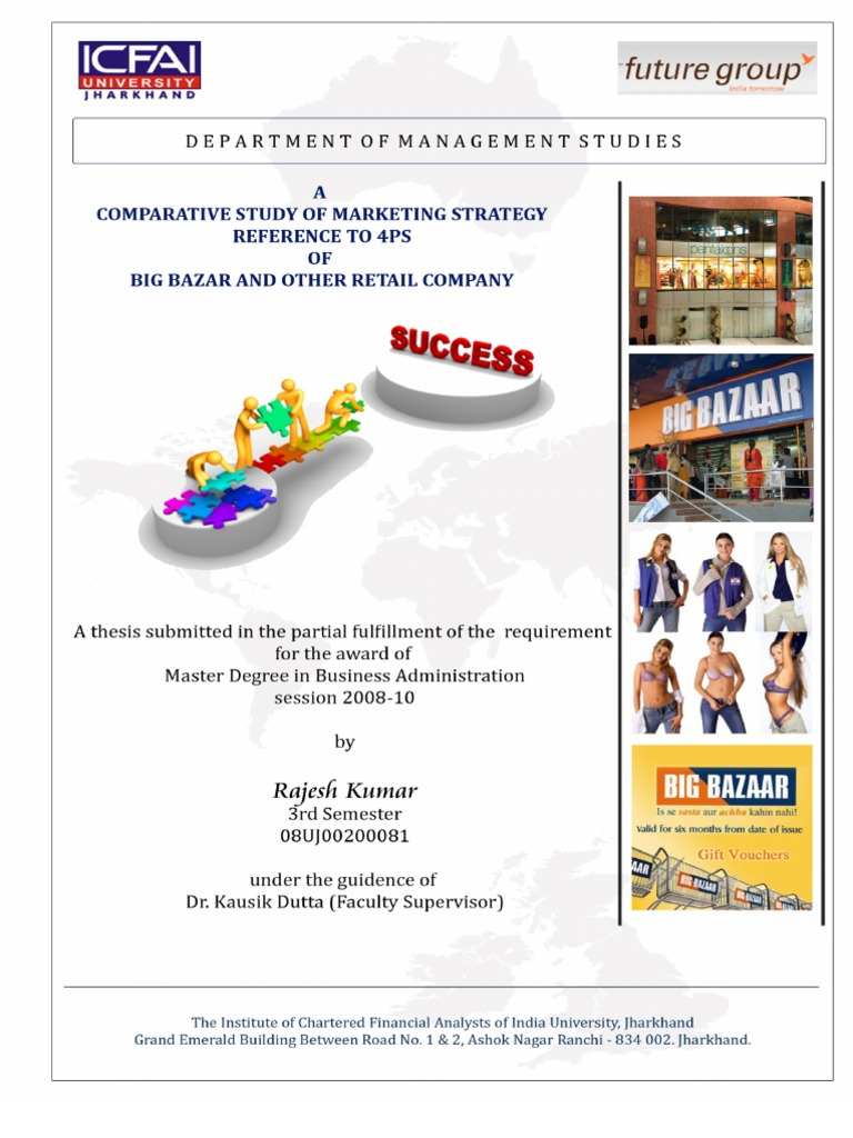 mba marketing dissertation topics