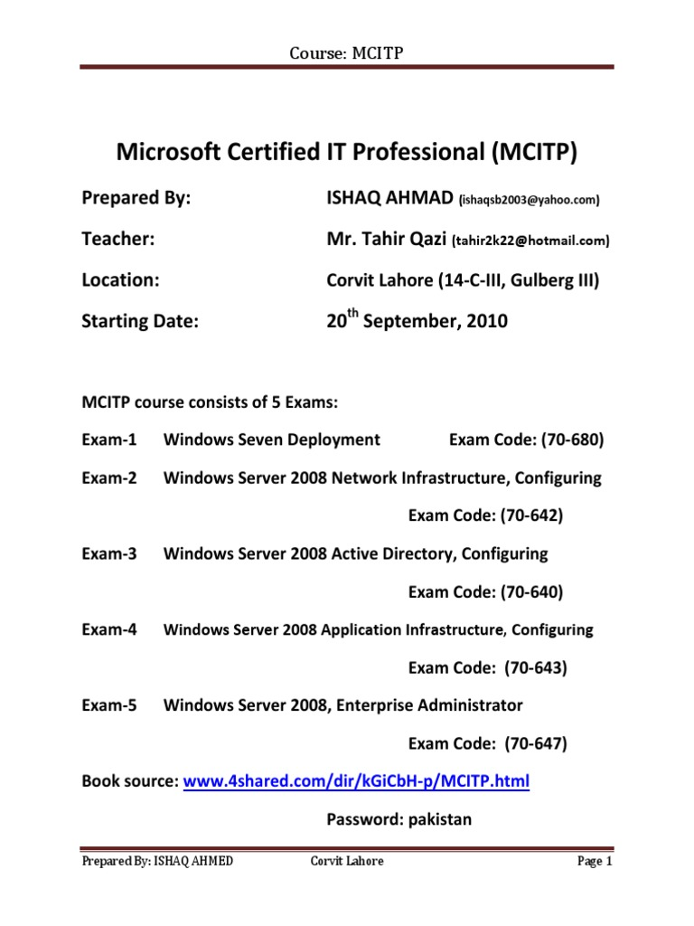 Download Microsoft Certified Professional Developer Certifications