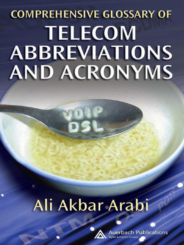 d7a0622ef74 Abbreviations Telecoms - DocShare.tips