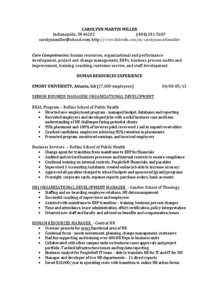 Download VP Director HR Talent Development in OK Resume Tom Hill ...