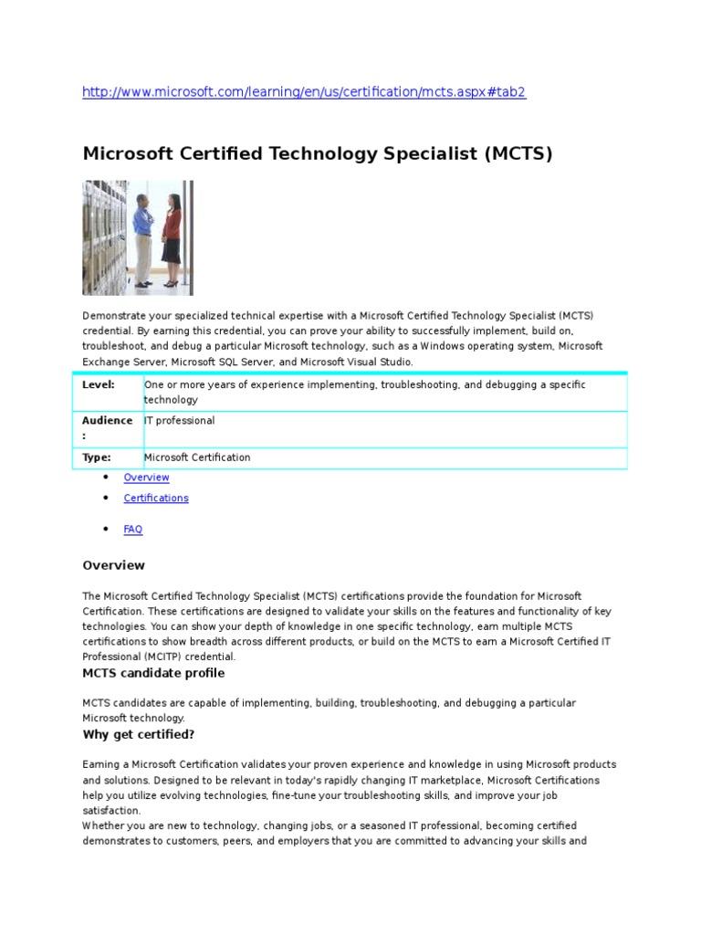 shawn harry microsoft certified technology specialist