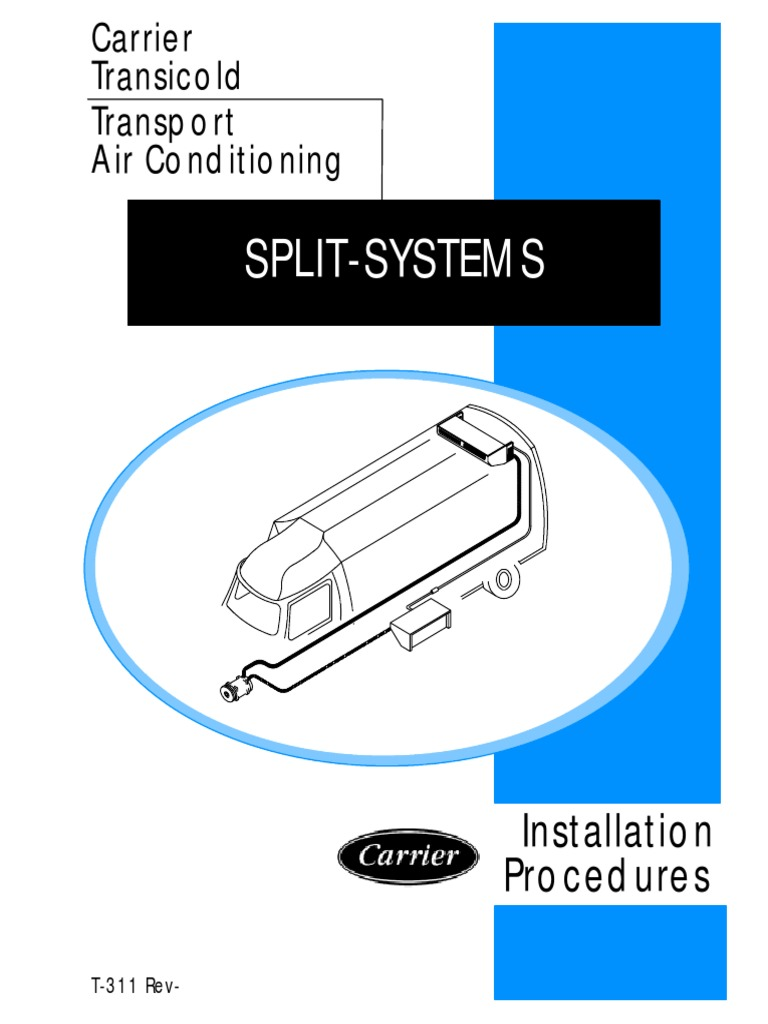 Carrier Transicold Transport Air Conditioning Installation ...