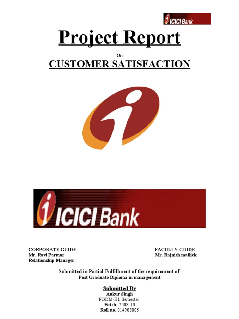 icici bank report 0 shri ram murti smarak college of engg & tech, bareilly - 243202 a report on icici bank submitted by daksh bhatnagar mba – 4th semester roll no - 1201470010.