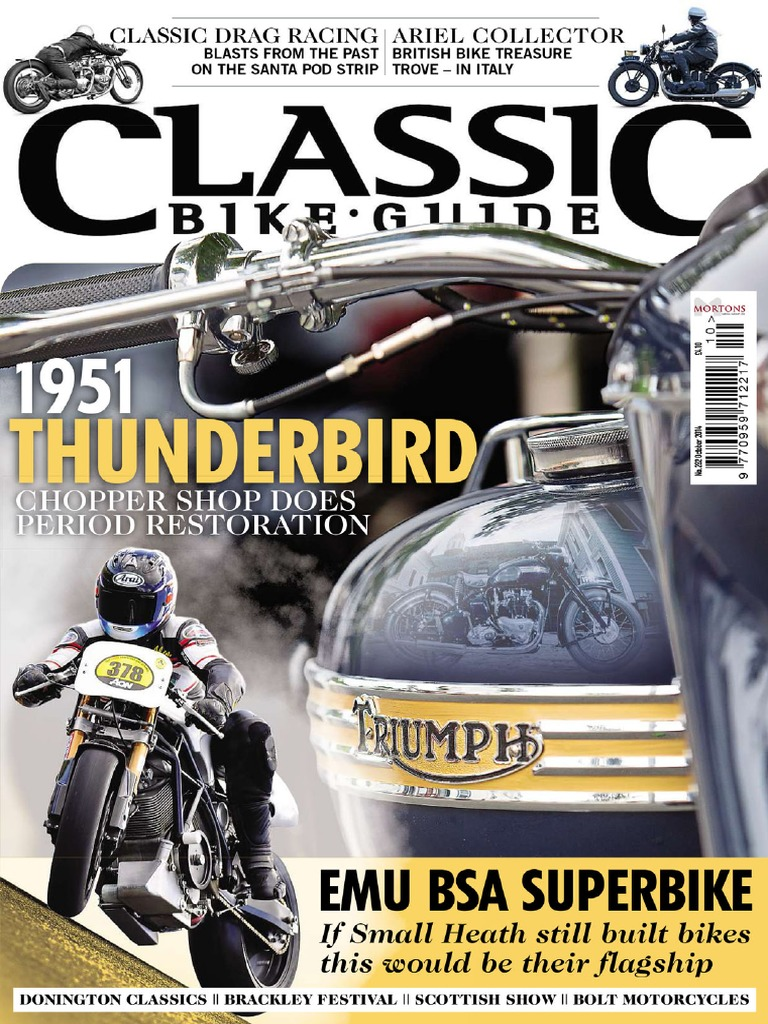 Classic Bike Guide October 2014 Wiring For Super Dummies Me Norton Commando Motorcycles