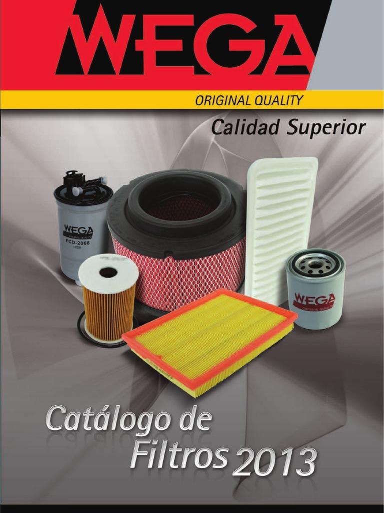 Catalogo filtros for Catalogo pdf