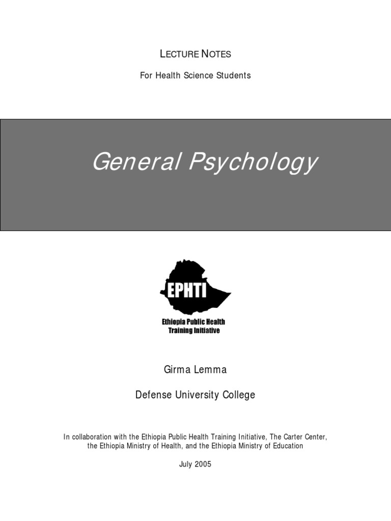 lecture notes in psychiatric nursing
