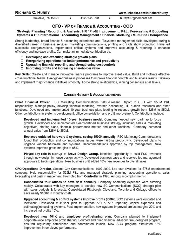 Download Controller CFO Finance Manager in Torrance CA Resume Kent ...