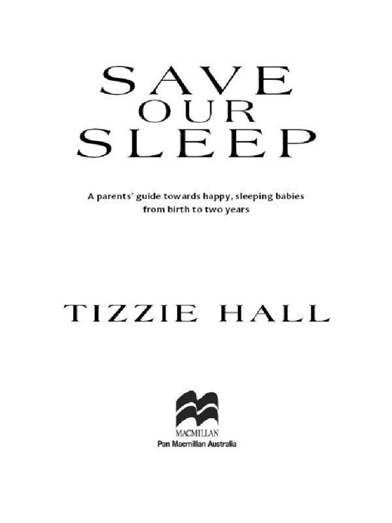 Save Our Sleep Pdf