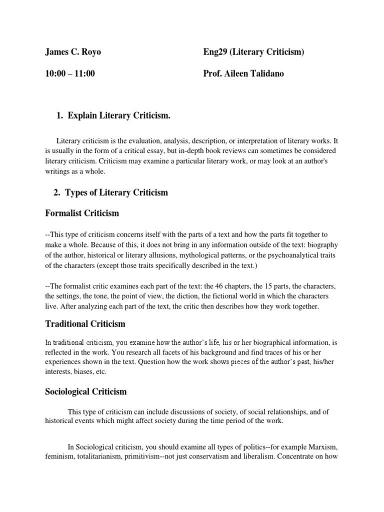 psychoanalytic model paper essay