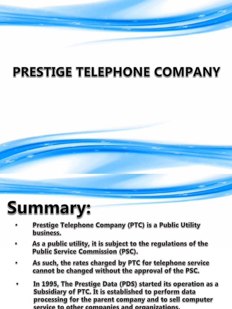 prestige telephone company case solution Prestige telephone company services case study solution pdf - this is the book you are looking for, from the many other titles of prestige telephone company services case study solution pdf books, here is also.
