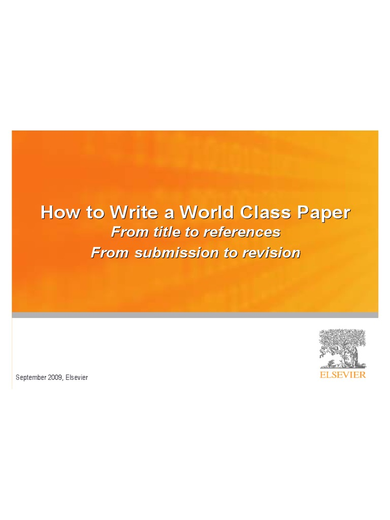 how to write a good paper for college