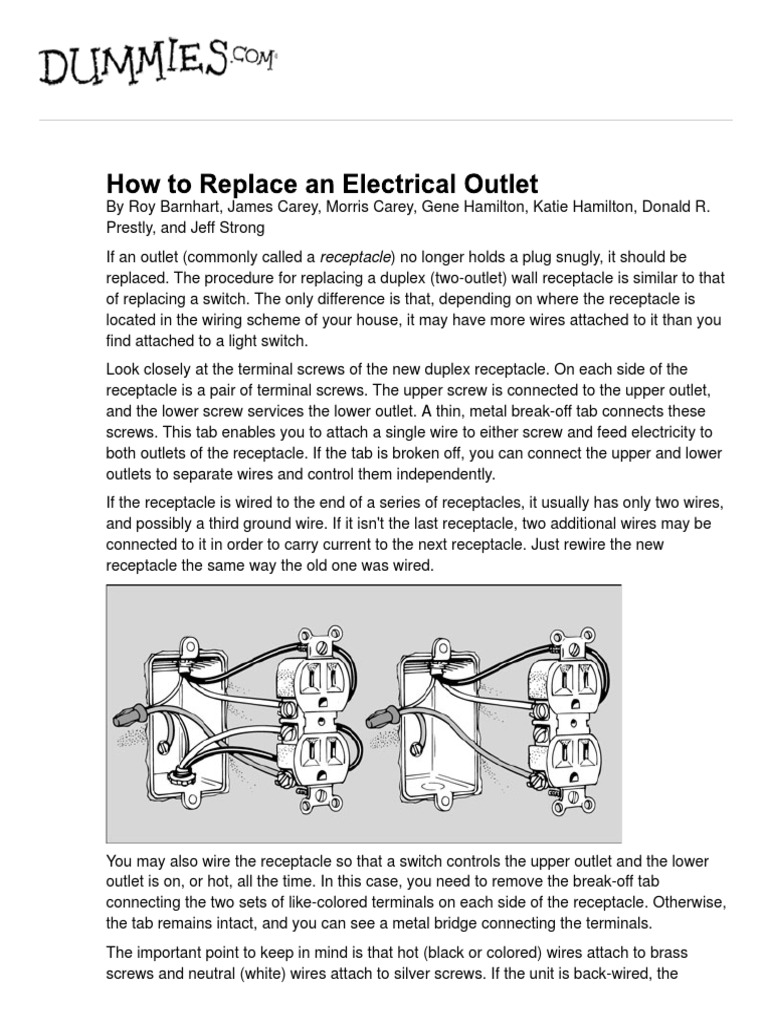 Nice Electrician For Dummies Image Collection - Electrical Diagram ...