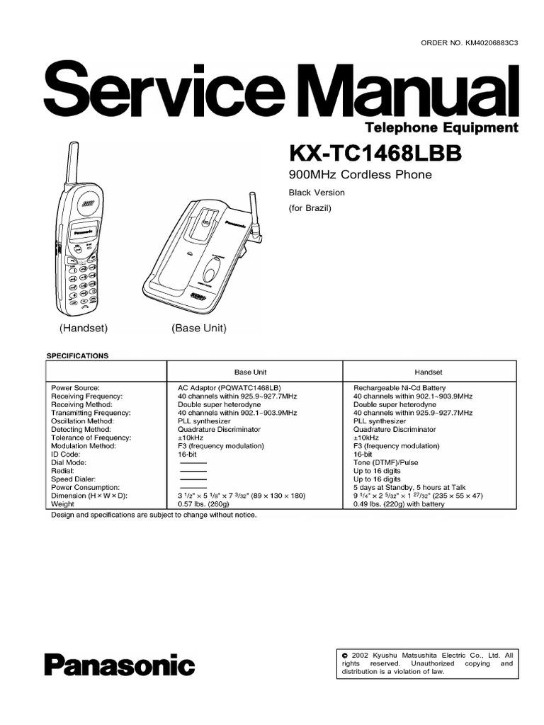 download panasonic kxtg1811 tg1812 tg1813 cordless phone manual rh docshare tips