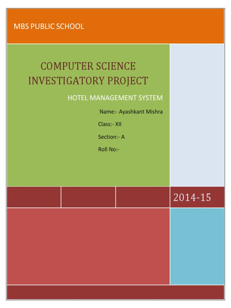Download Science Investigatory Project - DocShare tips