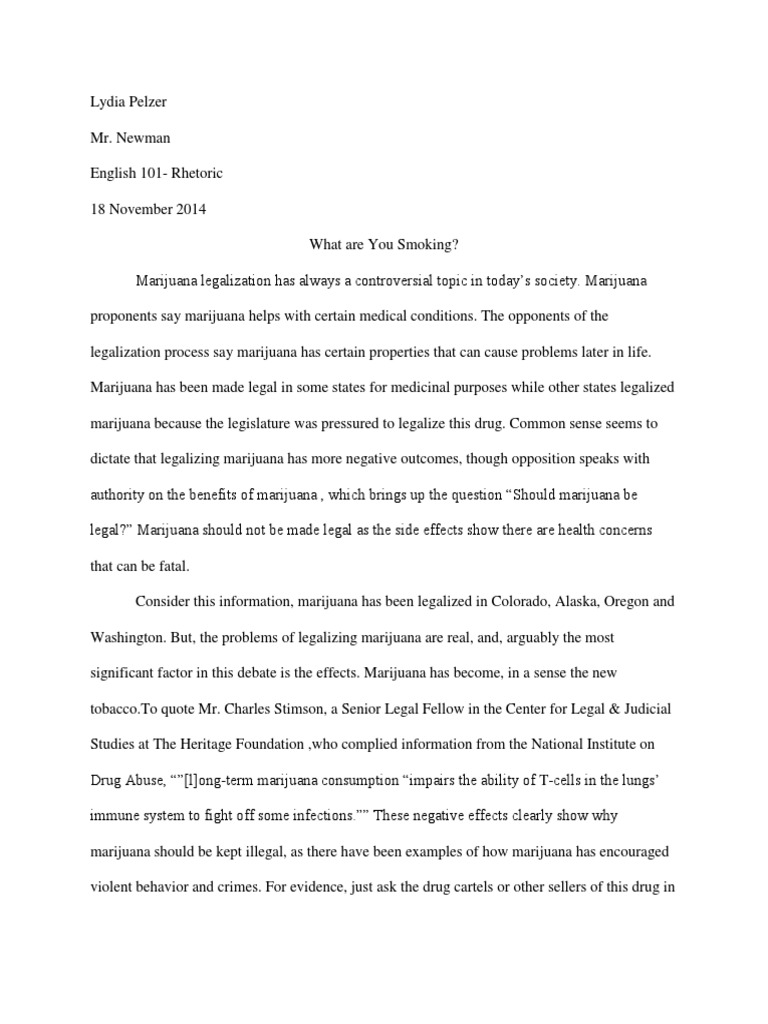 legalized marijuana and law enforcement essay Aaron klein legal marijuana businesses deserve better than to be treated as potentially criminal enterprises if congress won't simply legalize weed, it needs to clarify how federal law enforcement interacts with the pot industry.