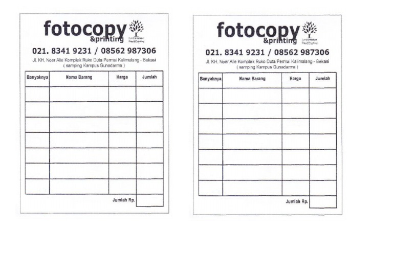 Nota Printing Docsharetips