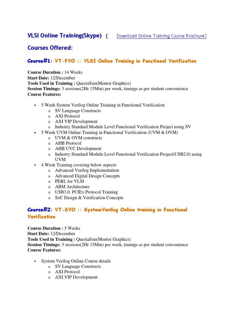 Download VLSI Guru Online Brochure - DocShare tips