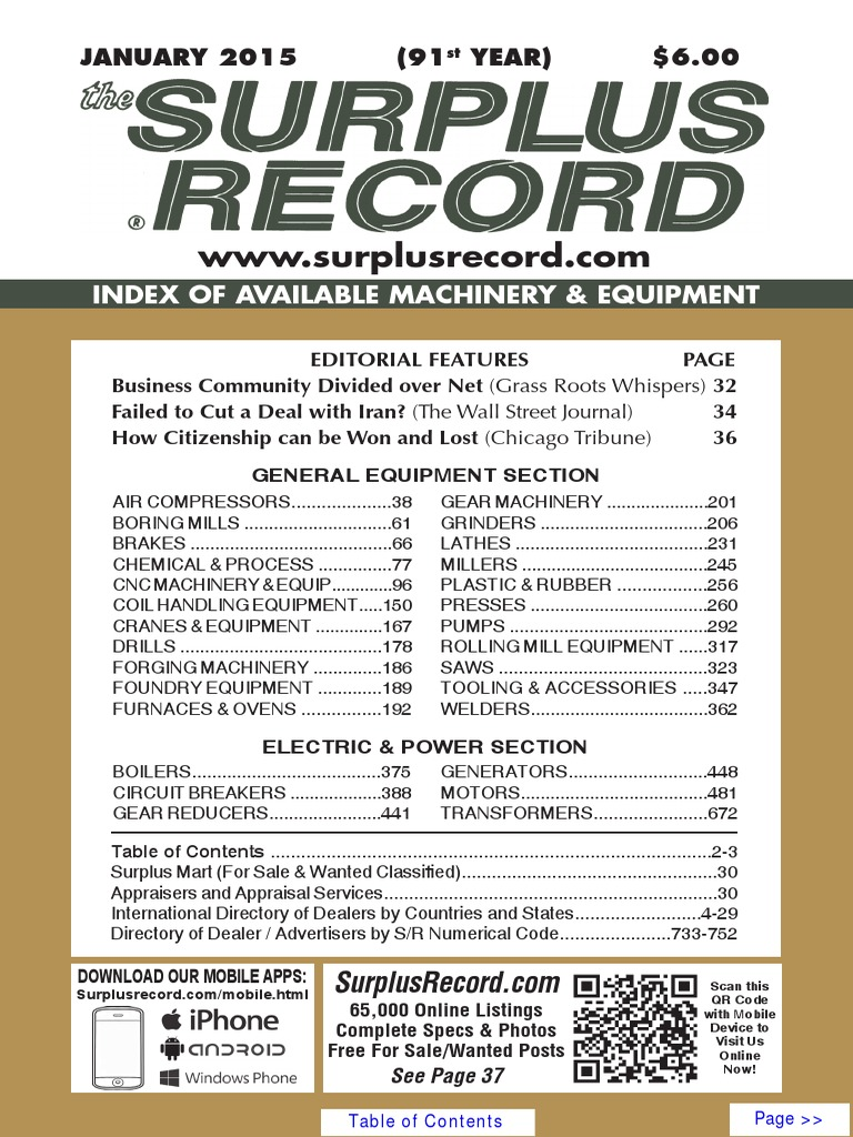 January 2015 Surplus Record Machinery Equipment Directory Bt300 Vfd Wiring Diagram