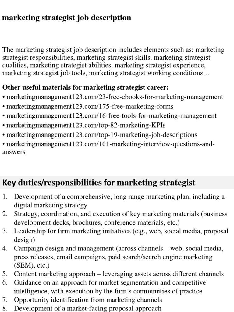 Download Michelle Kitson Resume Marketing Strategist - DocShare.tips