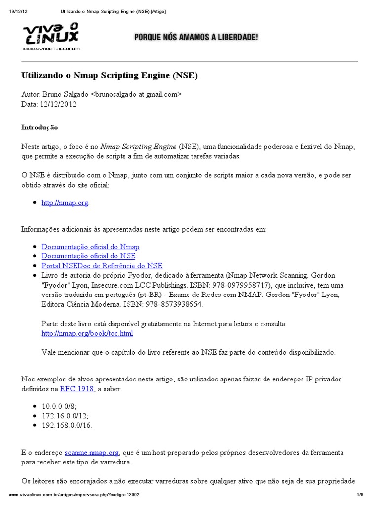 Download 3 NMap Scripting Engine - DocShare tips