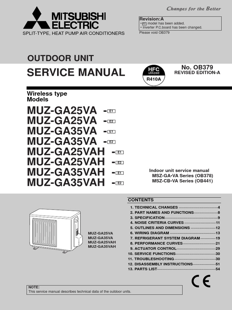Terrific Mitsubishi R410a Wiring Diagram Contemporary - Best Image ...
