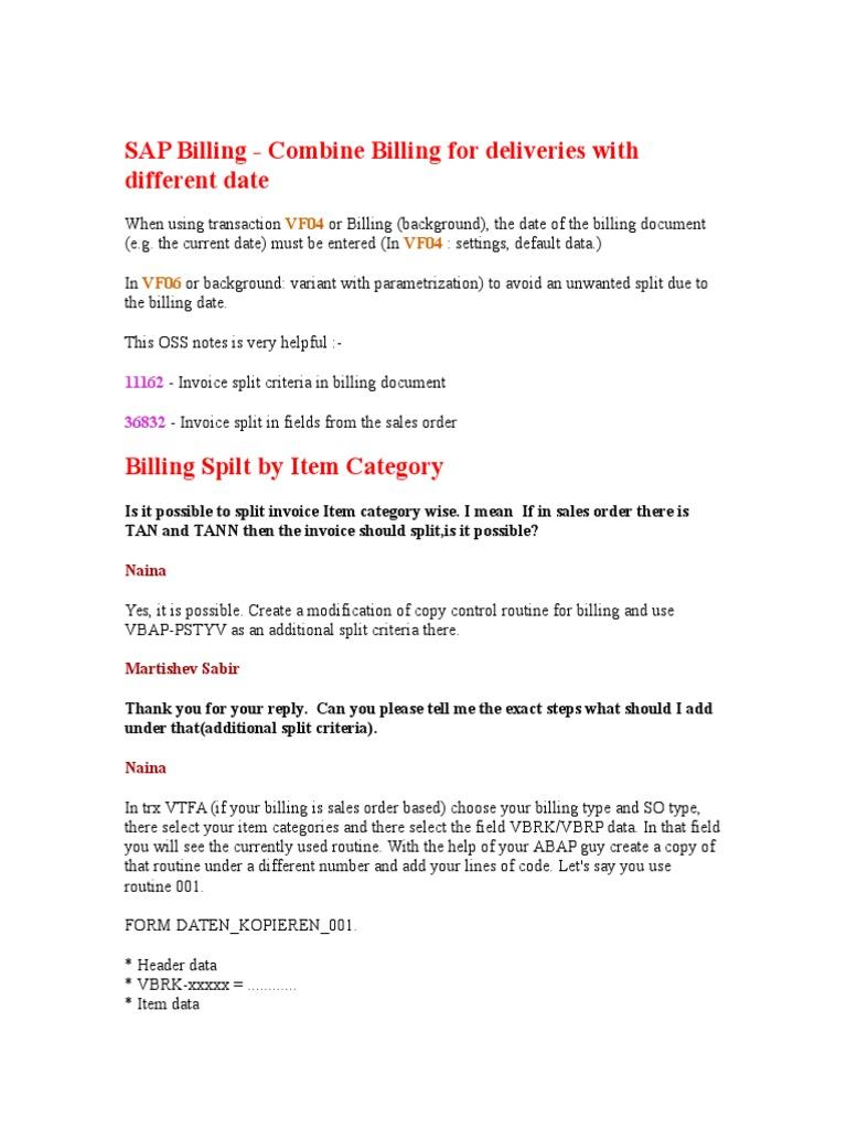 Billing - DocShare tips