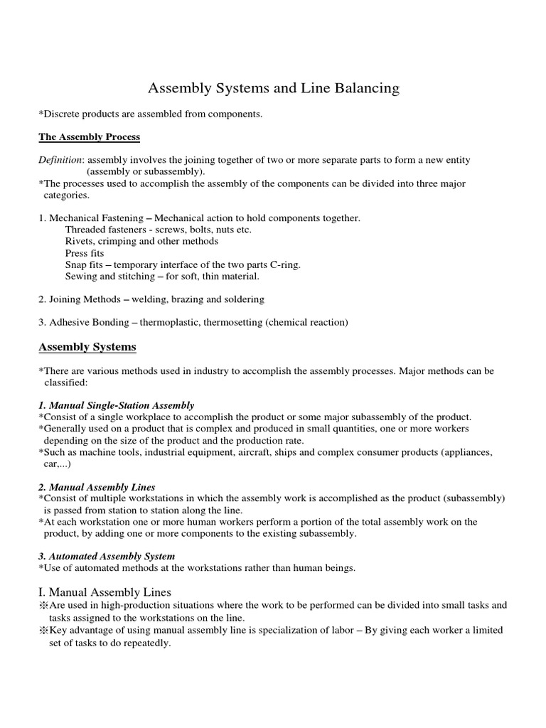 Microsoft word chapter8f assembly systems and line balancing microsoft word chapter8f assembly systems and line balancing docshare pooptronica Choice Image