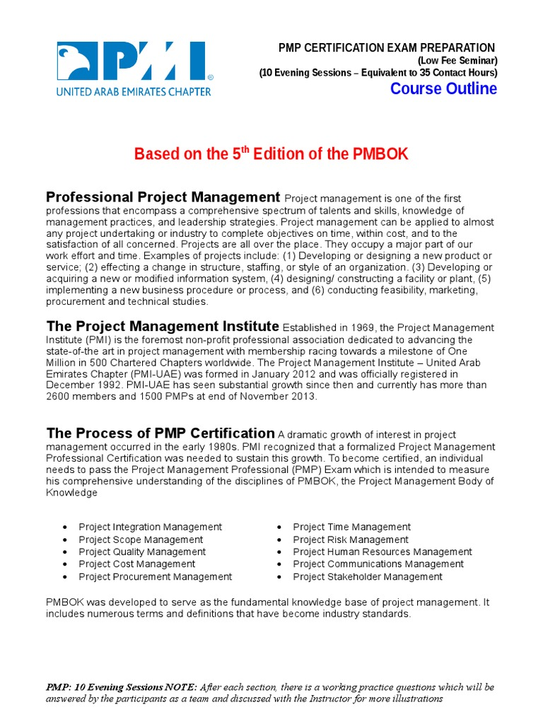 Download pmp certification outline docshare 1betcityfo Gallery