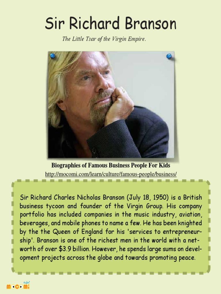 richard branson skills and qualities Sir richard branson was born in 1950, in surrey growing up, he struggled with dyslexia and found school difficult, leading him to drop out at the age of 16 at this time, he started a student magazine for which he needed funding, so in 1969, he had the idea to start a mail order record company.
