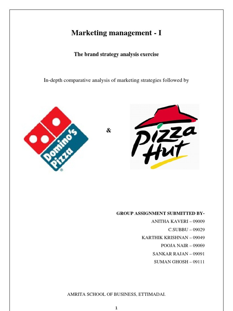 Download Pizza Hut Domino\'s.docx - DocShare.tips