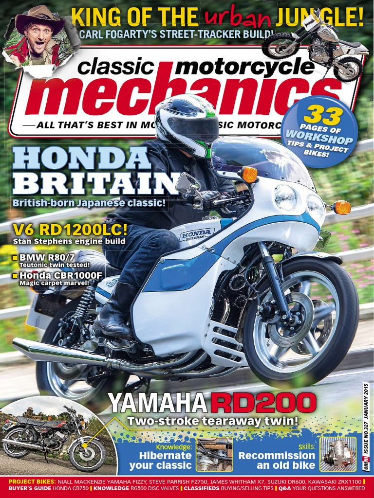 Classic Motorcycle Mechanics January 2015 1988 Gsxr 750 Slingshot Wiring Diagram