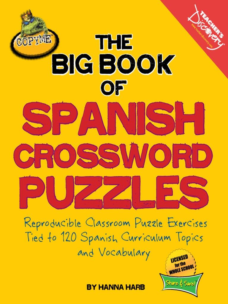 Crucigramas Vocabulario y Verbos Presente - DocShare.tips
