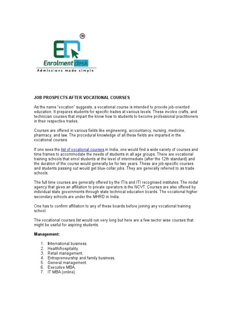 vocational training schools docshare tips