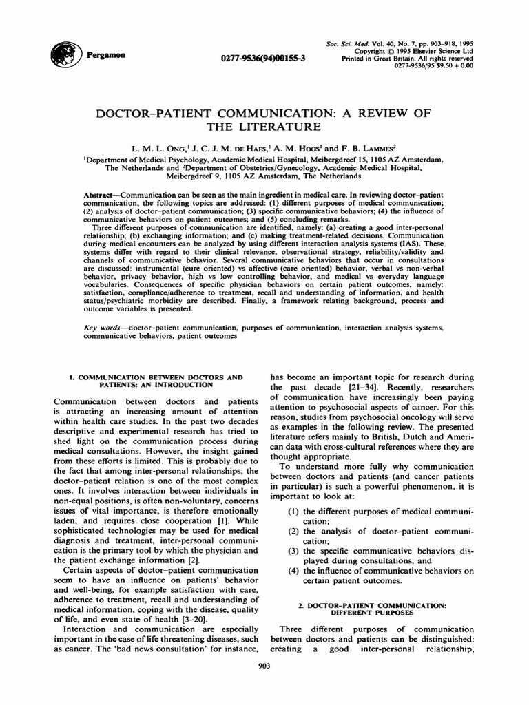 Download Doctor Patient Relationship PPT Template - DocShare.tips
