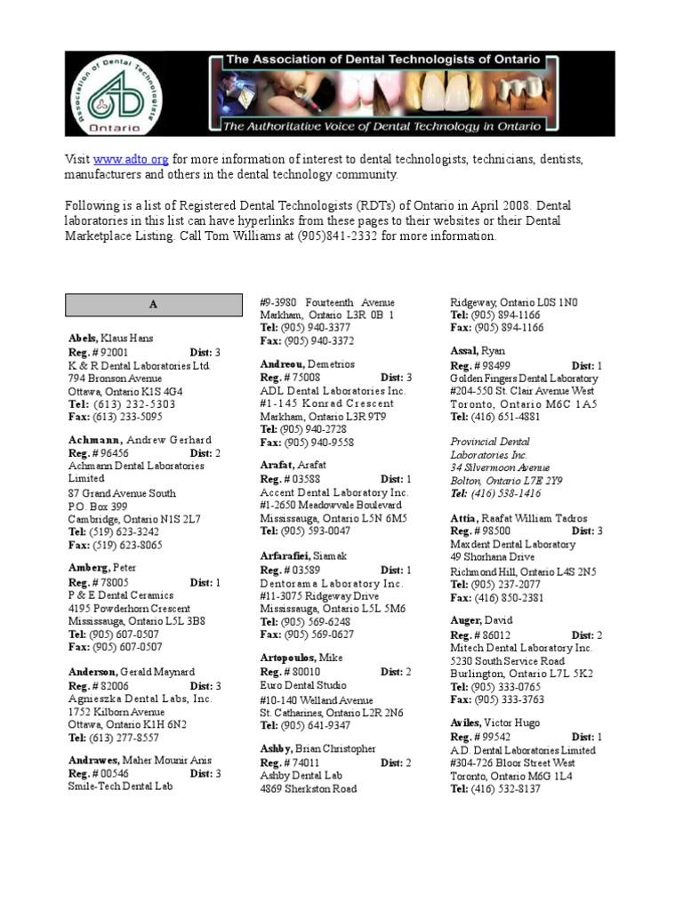 Download rdt list 2008 - DocShare tips