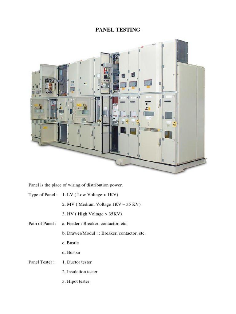 Download Electrical Engineering Portalcom Internal Arc Testing Of Wiring Diagram High Voltage Switch Gear Switchgear