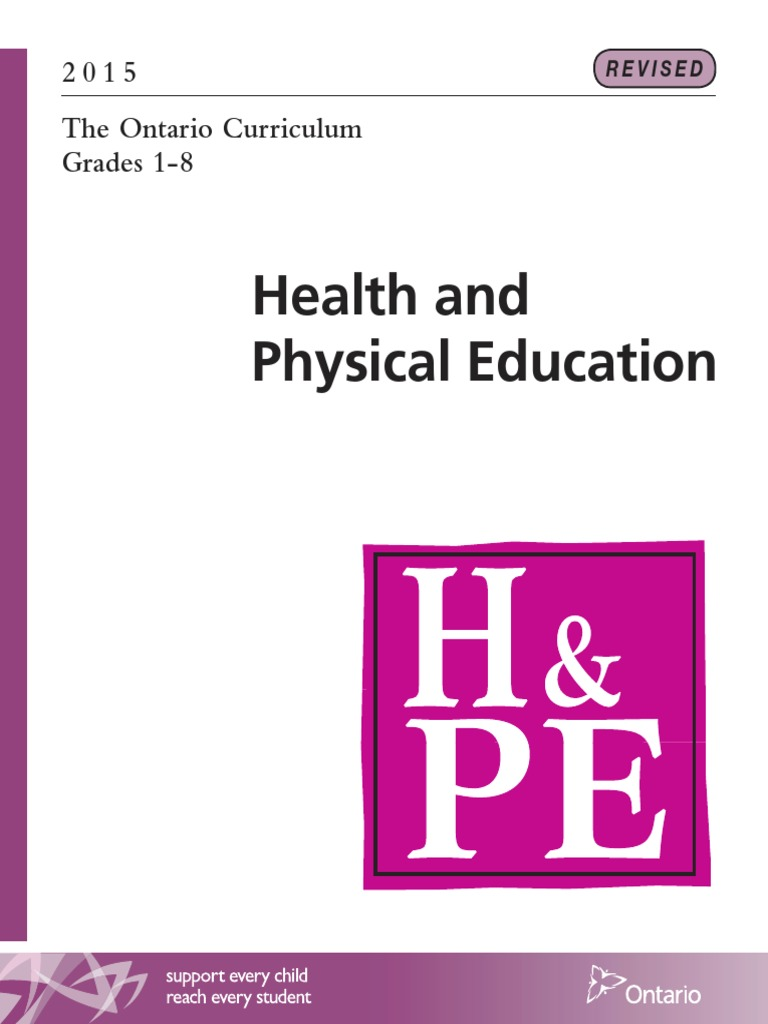 health and physical education in children