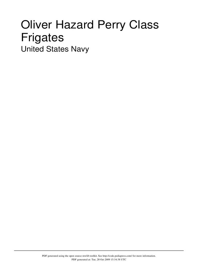 oliver hazard perry class frigate docshare tips688 81 Kb Jpeg Ford Ranger Wiring Diagrams At The Ranger Station Http #17