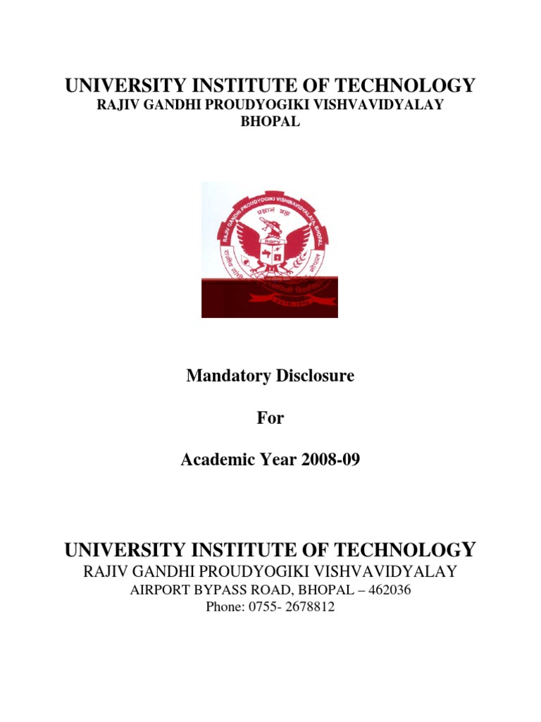 Download University Institute of Technology (UIT), RGPV