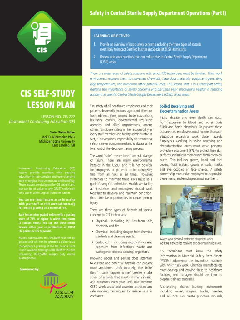 CSSD SAFETY pdf - DocShare tips