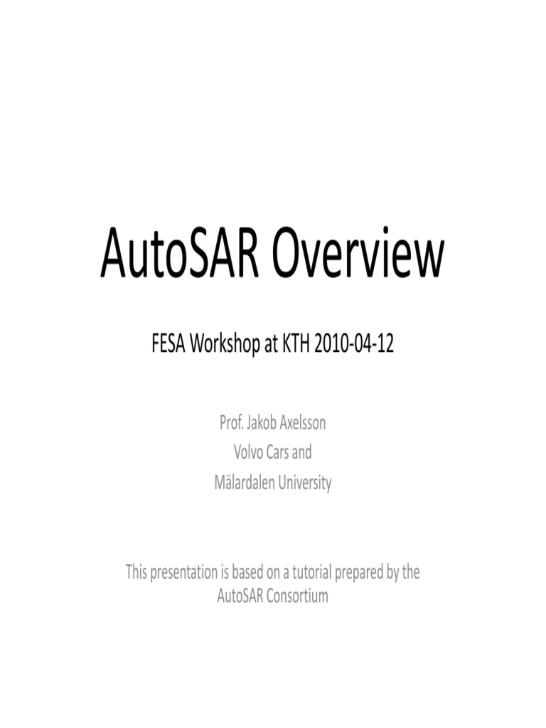 3 Autosar Axelsson 2 - DocShare tips