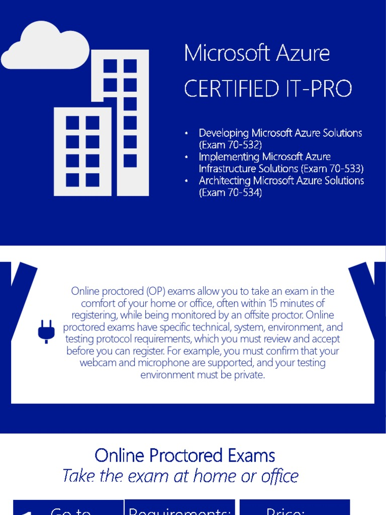 Download microsoft certification tracks docshare microsoft azure certification online proctored 1betcityfo Images