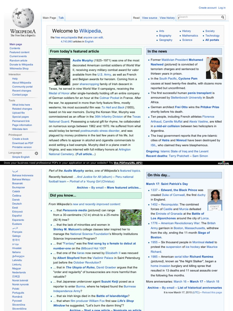 thesis site en.wikipedia.org Despite wikipedia's drawbacks, students will continue to take advantage of the resource – and the default response of academics to simply advise against using the site is unlikely to have much.