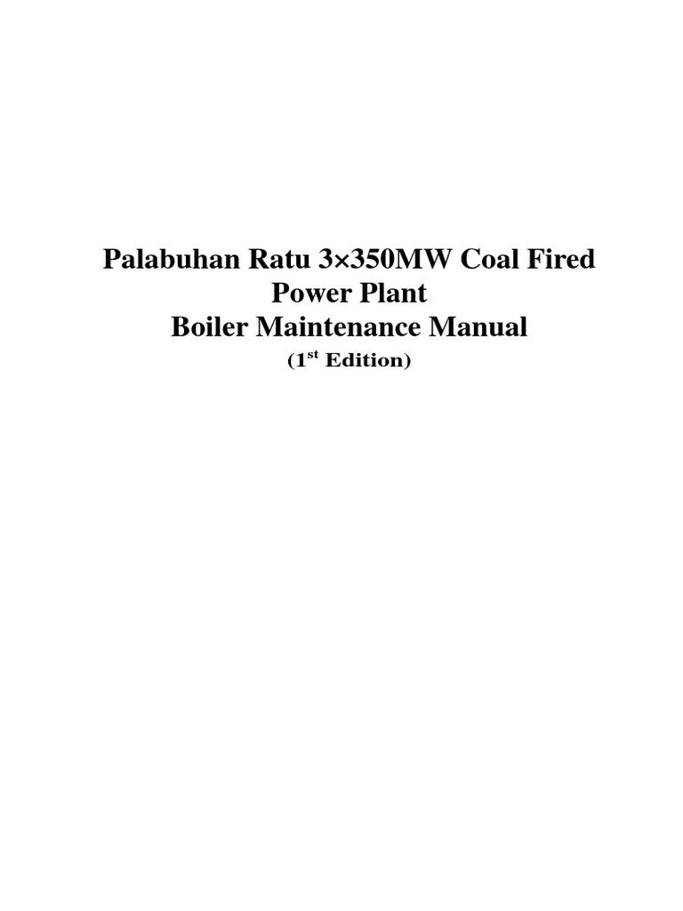 Download Boiler Maintenance Manual - DocShare.tips