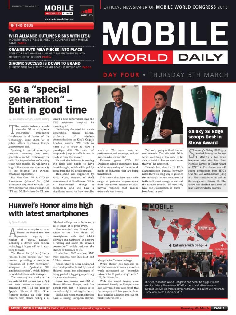 Mobile World Congress Day 4 Ken K68