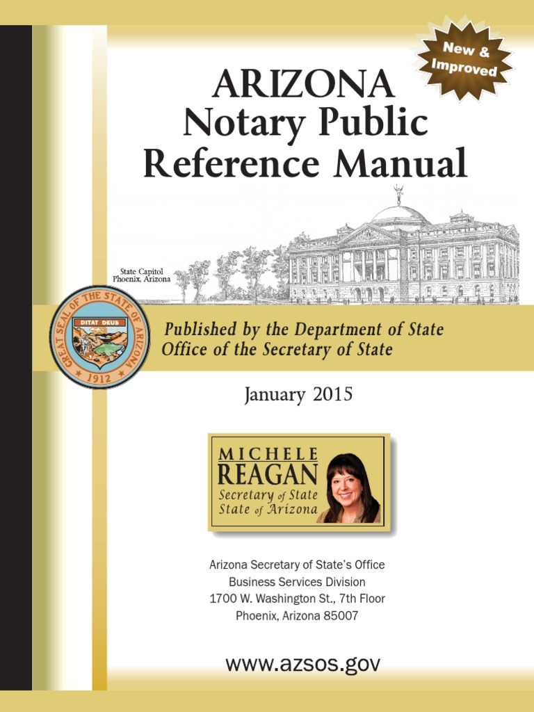 Notary Public Reference Manual