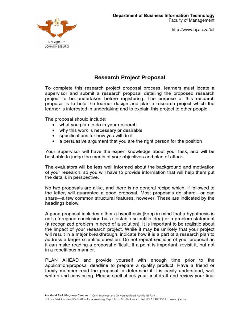 Download USB PhD Initial Research Proposal Template - DocShare.tips
